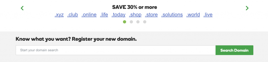 godaddy domain promo codes